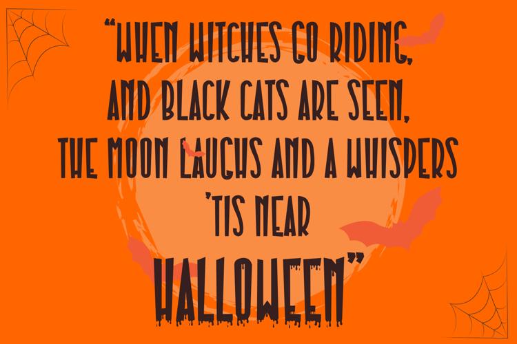 Pumpkinos Font