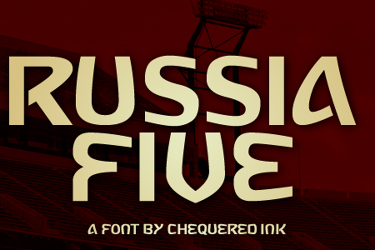 Russia Five Font