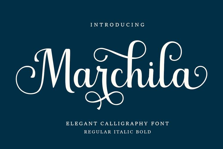 Marchila Font