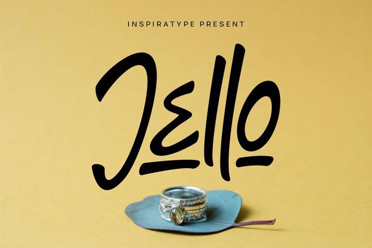 Jello Font