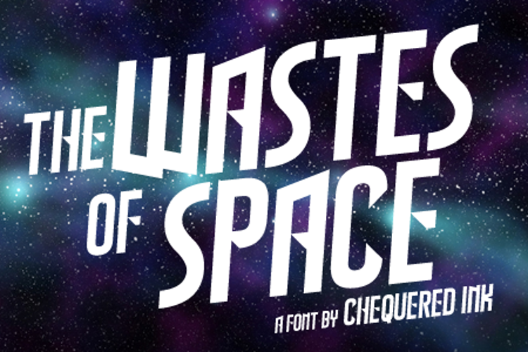 The Wastes of Space Font