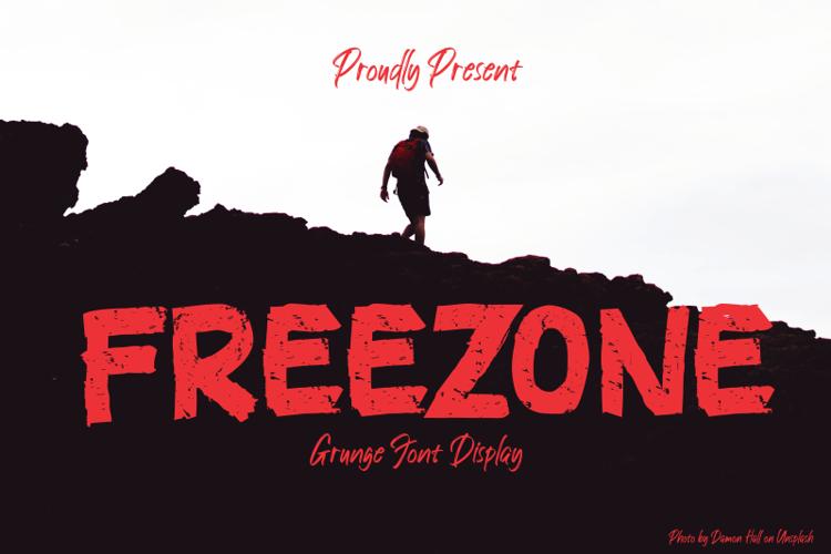 FREEZONE Font