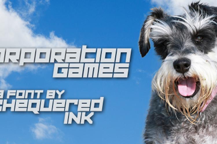Corporation Games Font