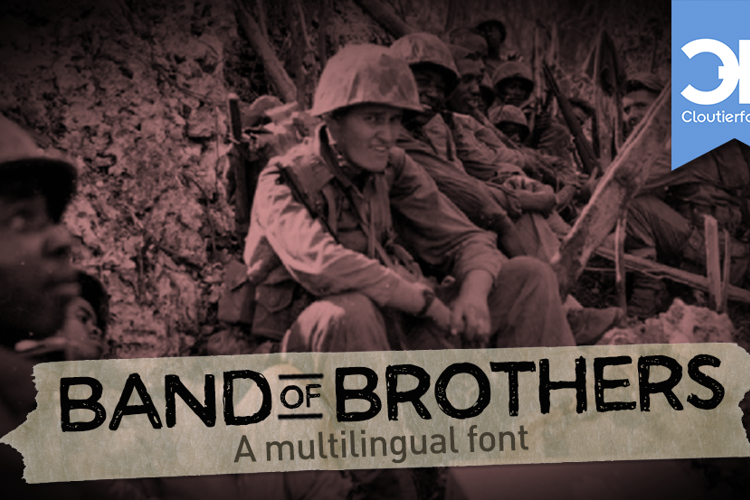 CF Band of Brothers Font