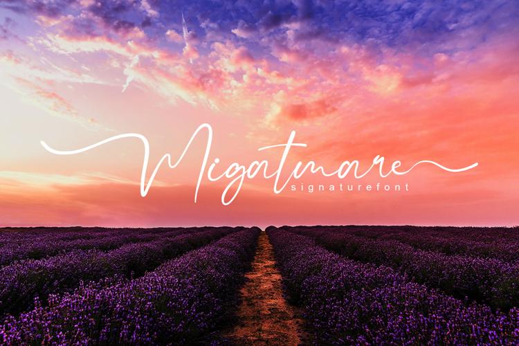 Migatmare Font