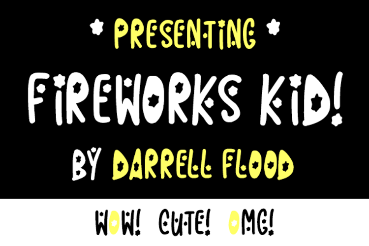 Fireworks Kid Font