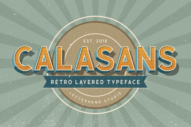 Calasans 04 Solid Font