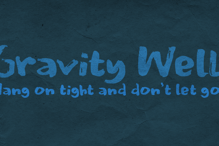 Gravity Well Font