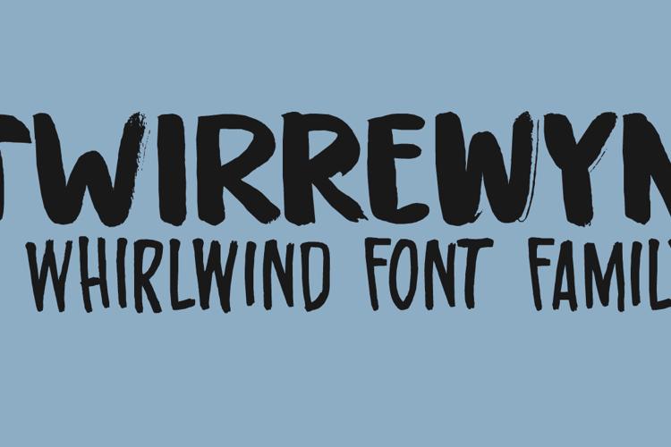 Twirrewyn DEMO Font