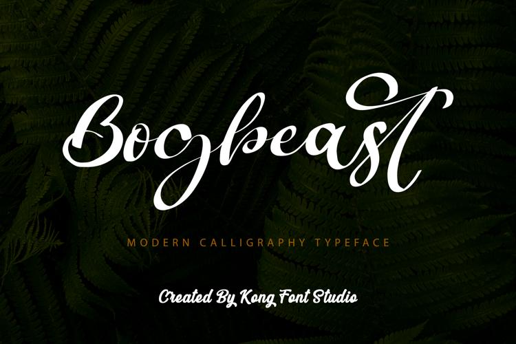 Bogbeast Font