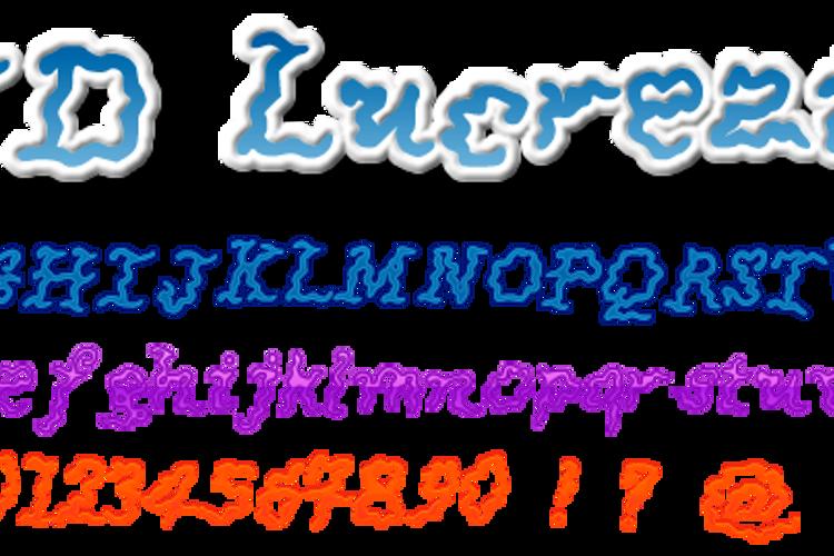 JDLucrezia Font