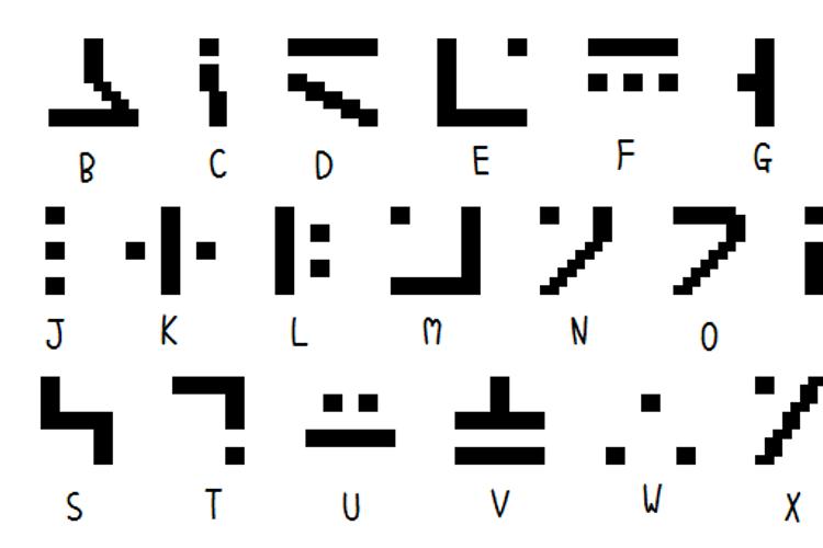 SGA Pixies Font