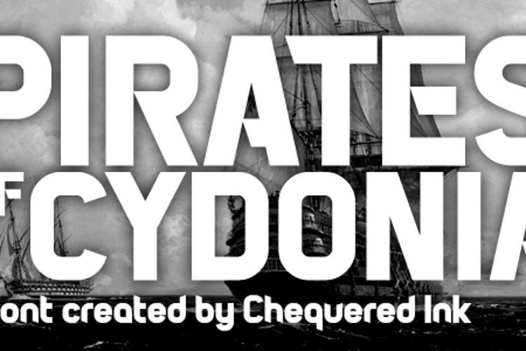 Pirates of Cydonia Font