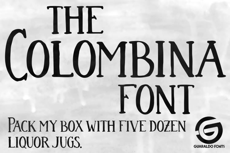 Colombina Font