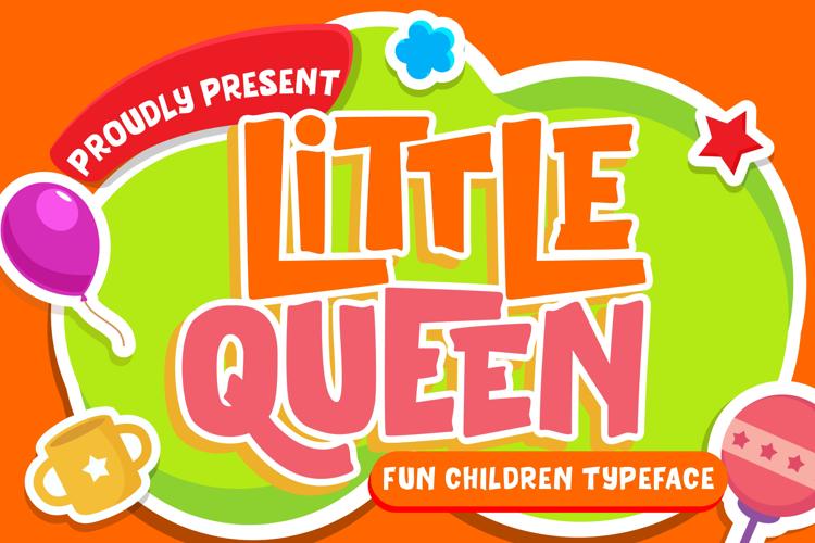 Little Queen Font