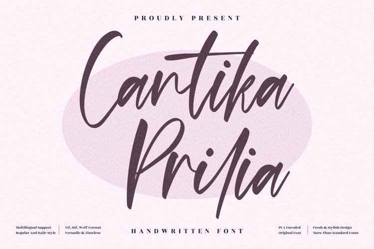 Cantika Prilia Font
