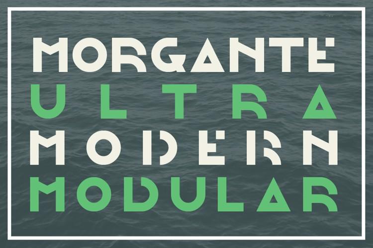 Morgante Font