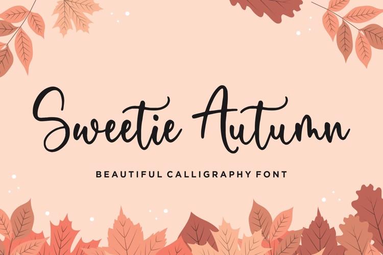 Sweetie Autumn Font
