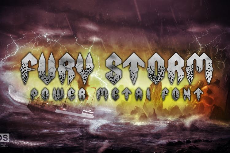 Fury Storm Font
