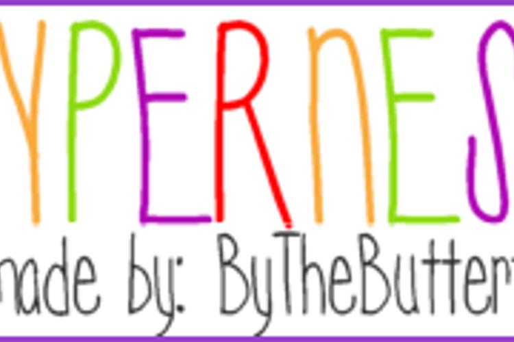 Hyperness Font