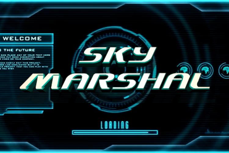 Sky Marshal Font