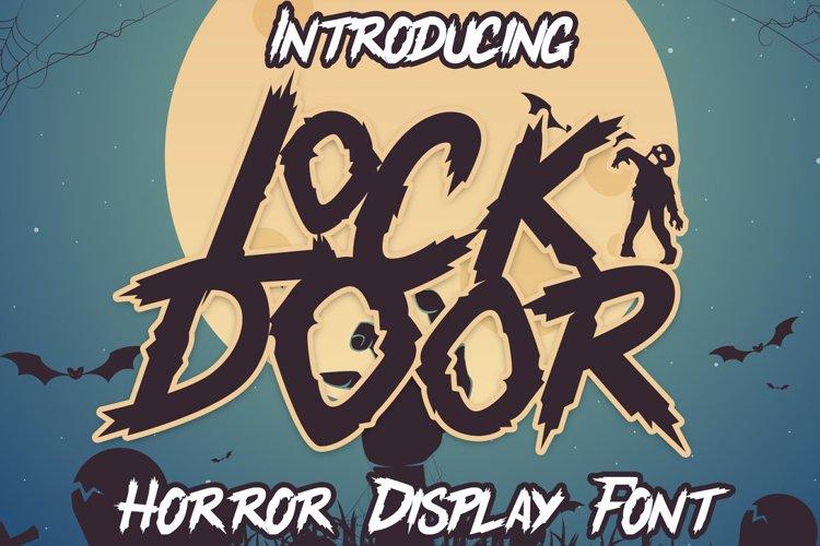 Lockdoor Font