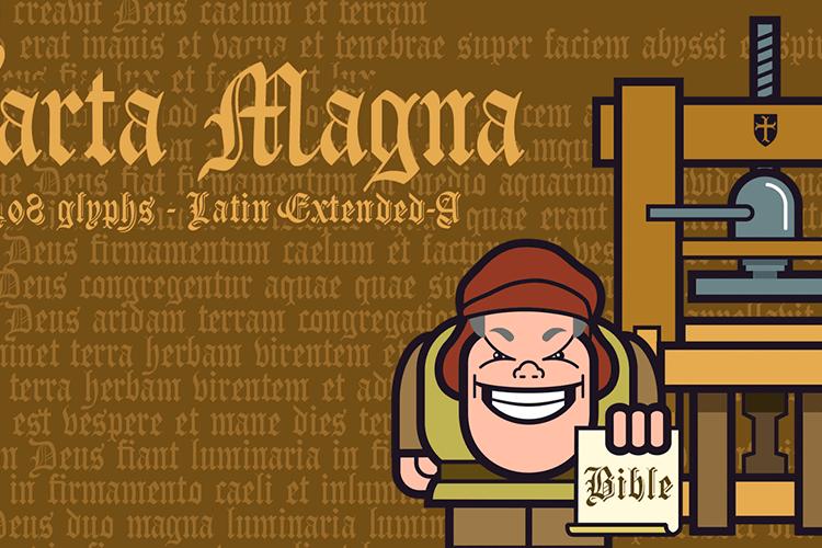 Carta Magna Line Font