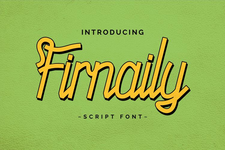 Firnaily Font