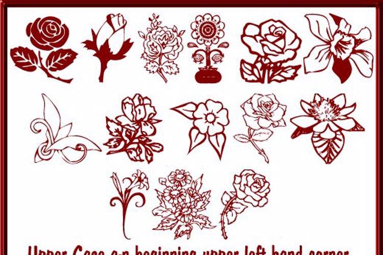 Floral Design Font