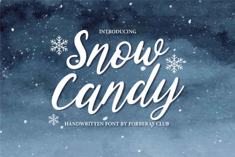 Snow Candy Font