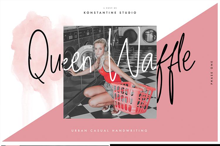 Queen Waffle Font