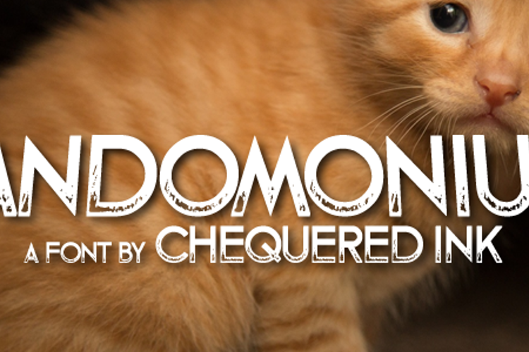 Fandomonium Font