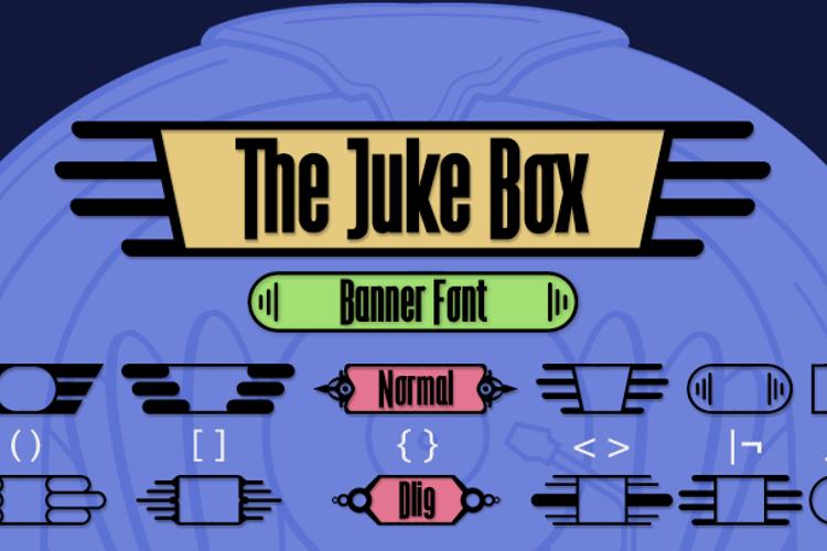 The Juke Box Font