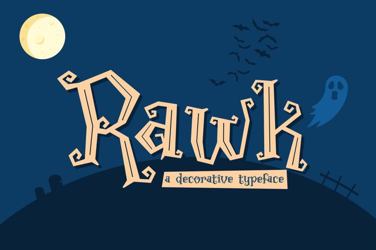 Rawk Font