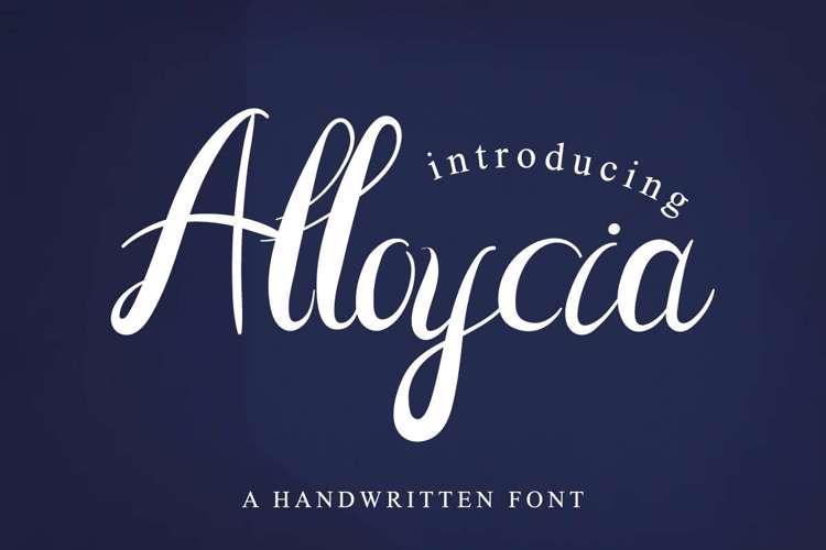 Alloycia Font