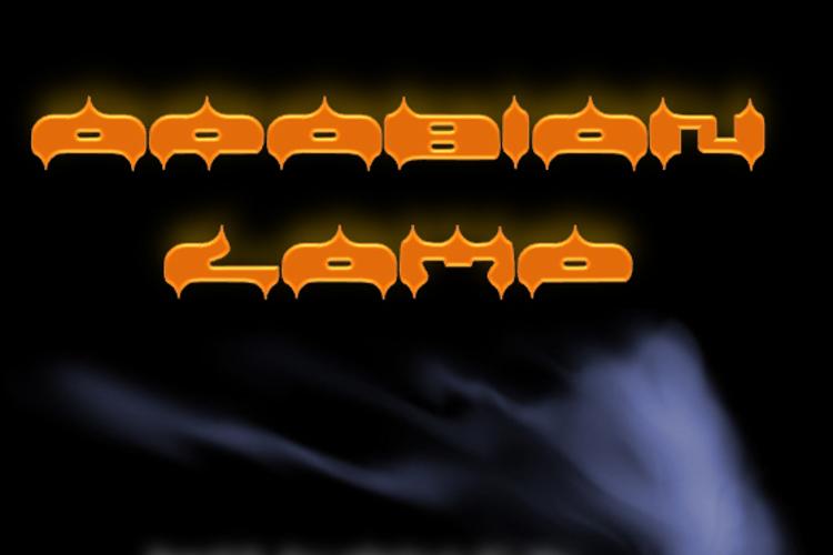 ARABIAN LAMB Font