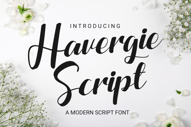 Havergie Script Font