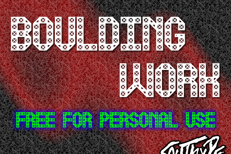 Boulding Work St Font