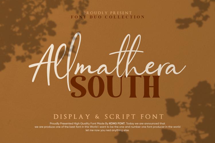 Allmathera Font