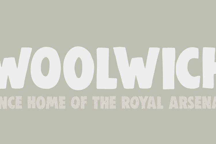 DK Woolwich Font