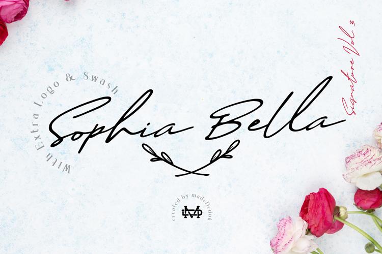 Sophia Bella Font