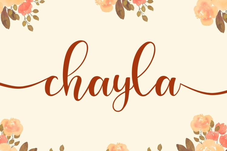 chayla Font
