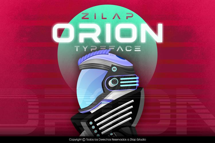 Zilap Orion Font