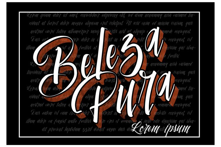 Vtks Beleza Pura Font