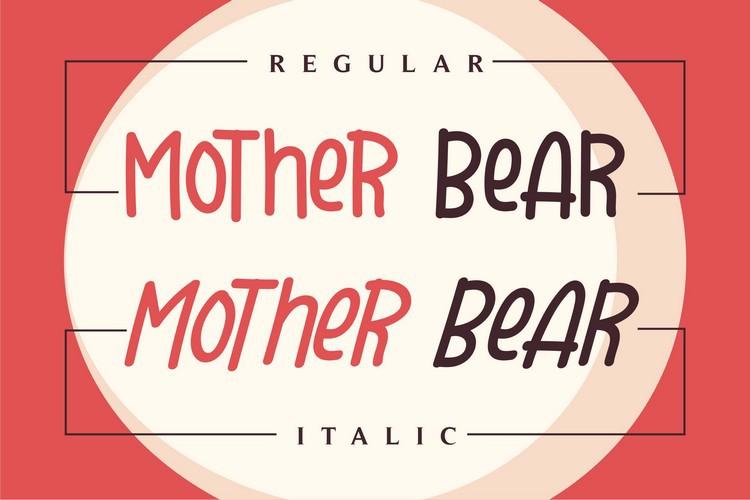 Mother Bear Font
