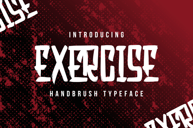Exercise Font