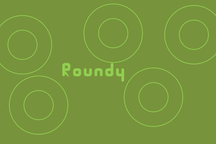 Roundy Font