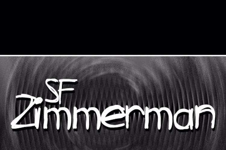 SF Zimmerman Font