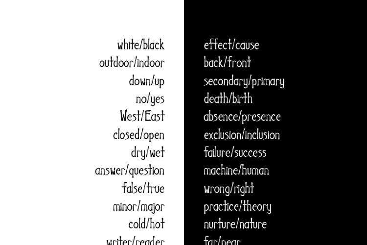 Uncanny Font