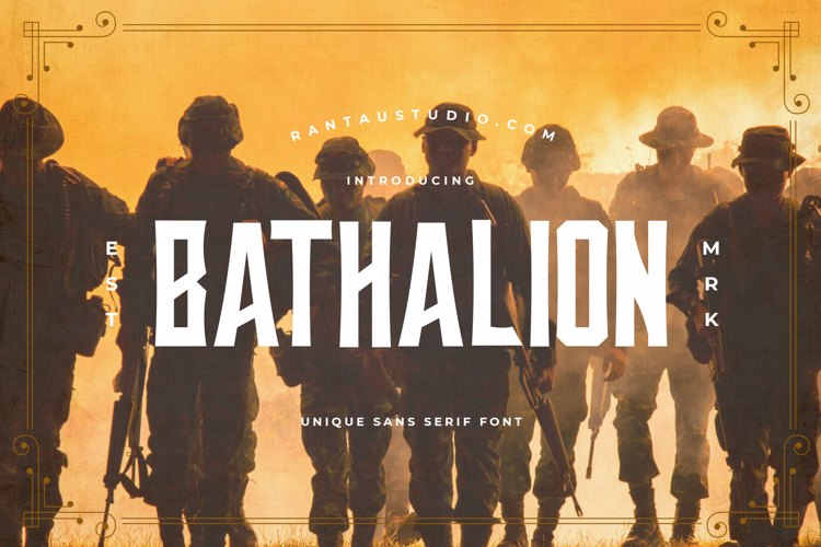 Bathalion Font